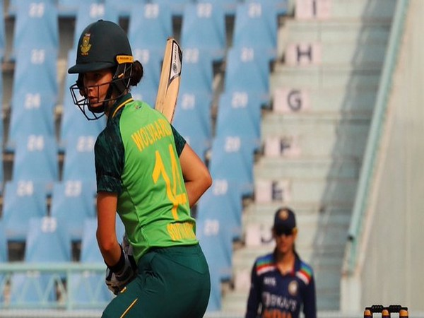 Laura Wolvaardt in action against India (Photo/ ICC Twitter)