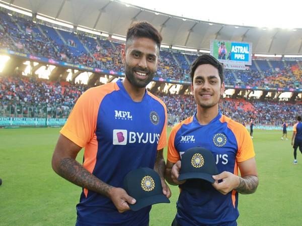 Suryakumar Yadav and Ishan Kishan (Photo/ ICC Twitter)