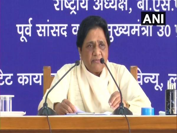Bahujan Samaj Party (BSP) chief Mayawati. (Photo/ANI)