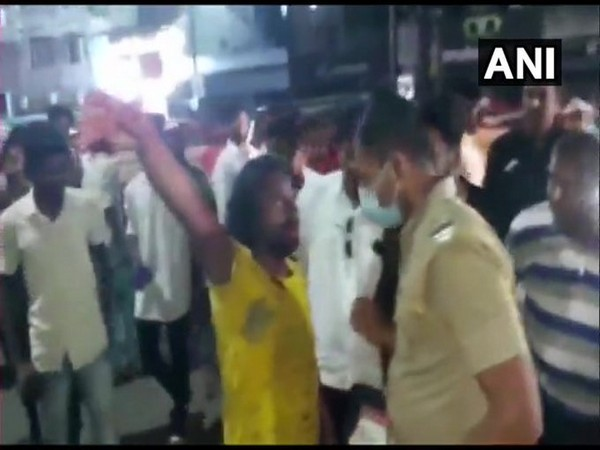 Man who attempted to attack Haasan was handed over to the police