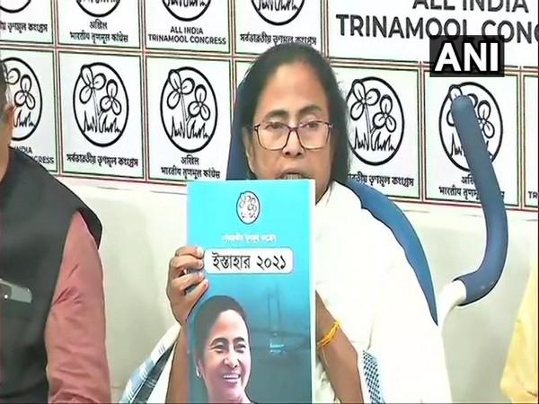 West Bengal Chief Minister Mamata Banerjee (Photo/ANI)