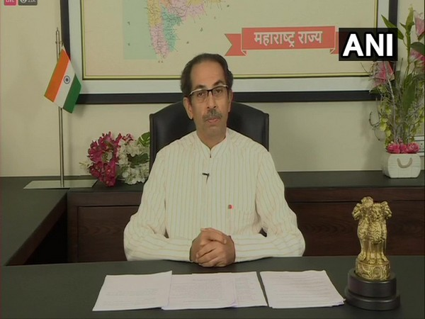 Uddhav Thackeray addressing a press conference in Mumbai on Friday. [Photo/ANI]
