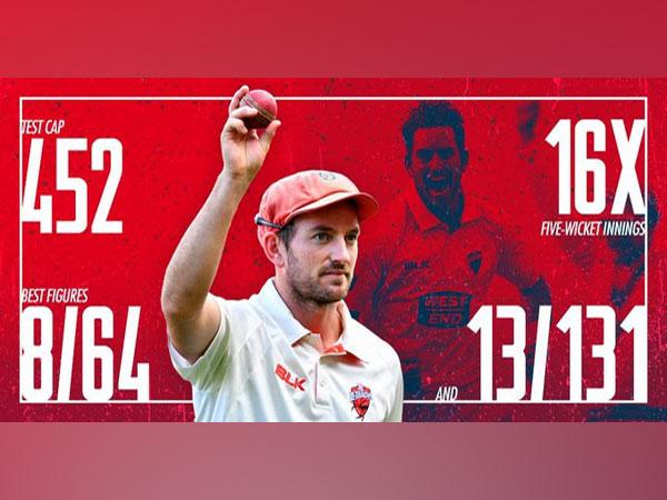 Chadd Sayers (Photo/ South Australian Cricket Association Twitter)