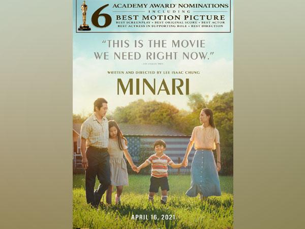 Poster of 'Minari' (Image Source: Twitter)