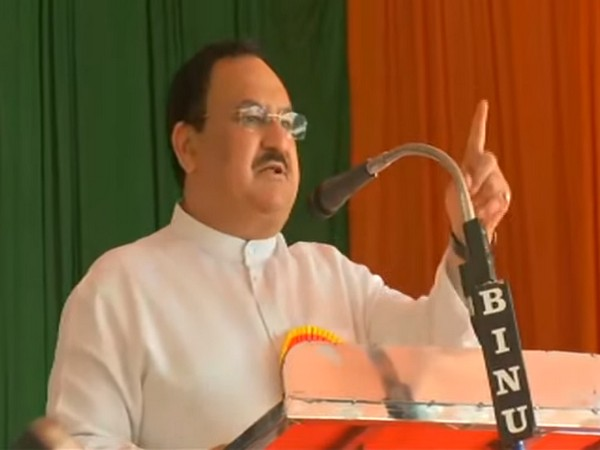 BJP president JP Nadda in Kerala (Photo/ANI)