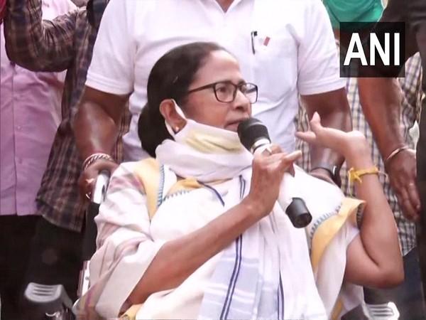 West Bengal Chief Minister Mamata Banerjee in Nandigram (Photo/ANI)