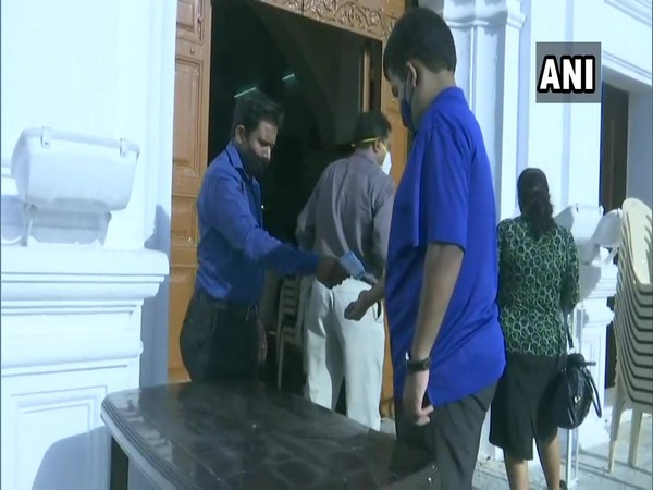 Visual from the Immaculate Conception Church. (Photo/ANI)