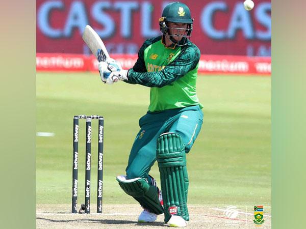 Proteas batsman Rassie van der Dussen (Photo/ Cricket South Africa Twitter)