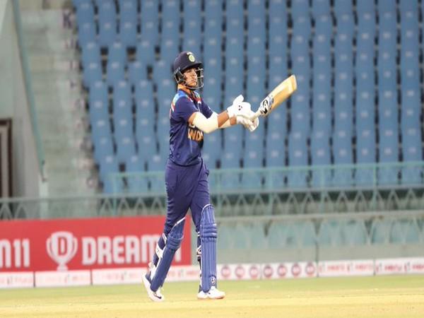 India opening batter Shafali Verma (Photo/ BCCI Women Twitter)