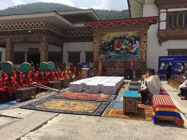 Another consignment of COVID-19 vaccine from India arrives in Bhutan (Photo Credit: Twitter/PM Bhutan)