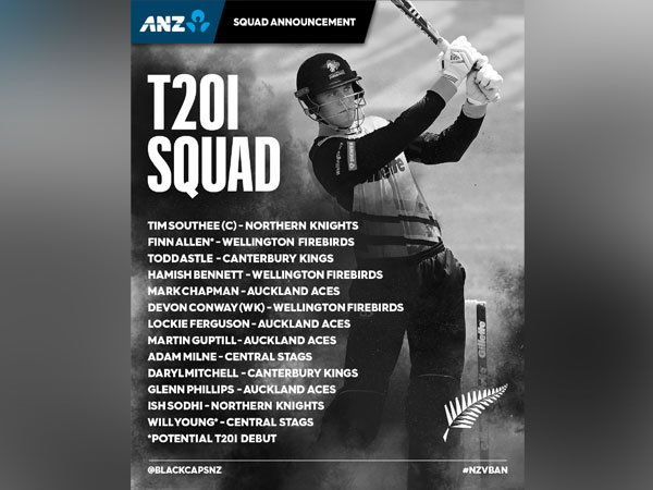The first T20I between New Zealand and Bangladesh will be played on Sunday. (Photo/ BLACKCAPS Twitter)