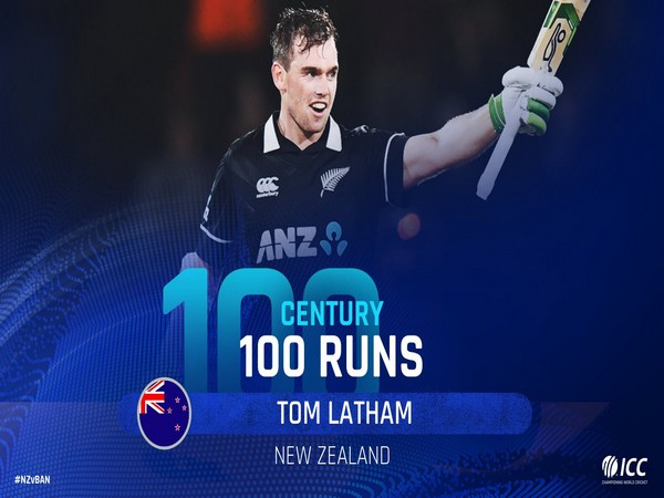 Tom Latham (Photo/ ICC Twitter)