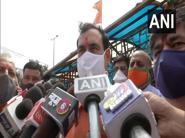 MP Home Minister Narottam Mishra. (Photo/ANI)