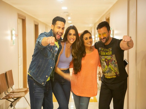 The cast of 'Bunty Aur Babli 2' (Image Source: Twitter)