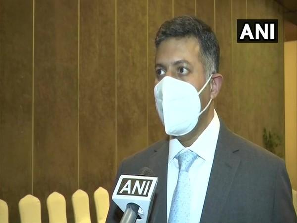 Vikram K Doraiswami, Indian High Commissioner to Bangladesh speaking to ANI on Thursday in Dhaka, Bangladesh