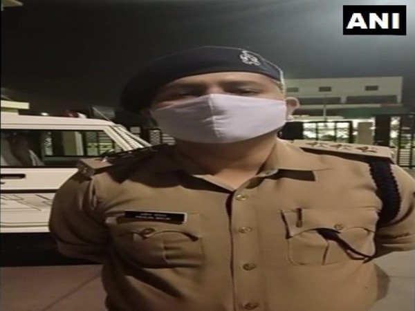 Praveen Malik, Assistant Commissioner of Police, Lucknow speaks to ANI on Thursday. [Photo/ANI]
