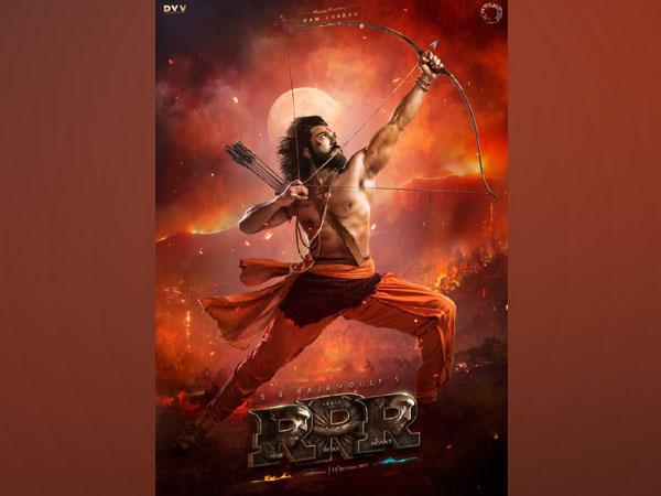 Ram Charan as 'Alluri Sita Ramaraju' (Image courtesy: Instagram)