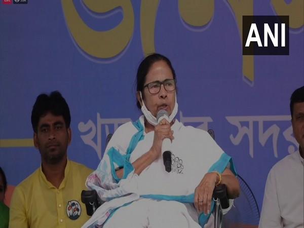 West Bengal Chief Minister Mamata Banerjee in Kharagpur