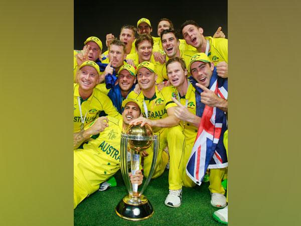 2015 World Cup winning Australian team (Photo/ cricket.com.au Twitter)
