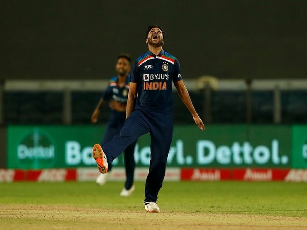Shardul Thakur in action against England (Photo/ BCCI Twitter)