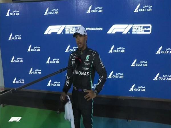 Mercedes' Lewis Hamilton (Photo/ Formula 1 Twitter)