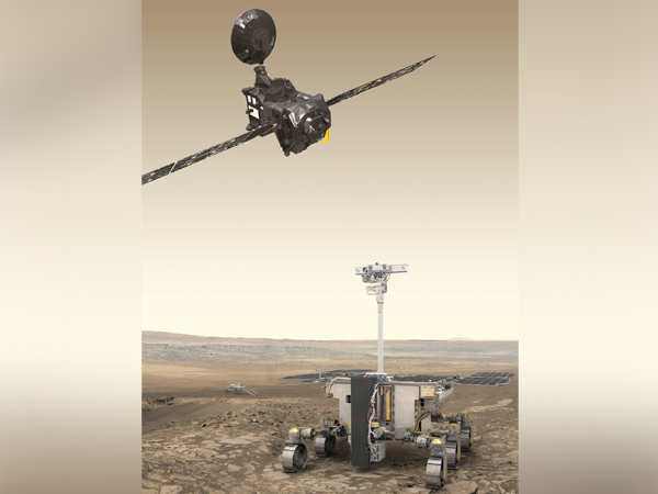 ExoMars orbiter and rover (Image Source: The European Space Agency)