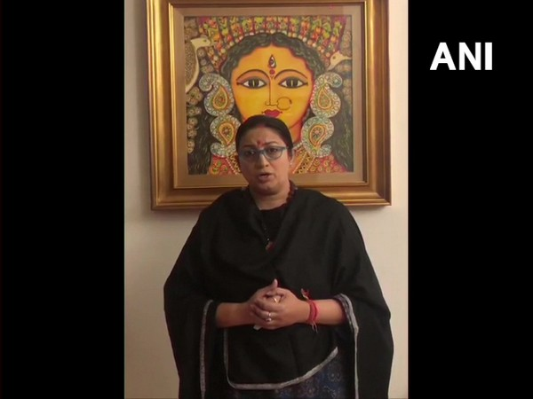 Union Minister Smriti Irani (Photo/ANI)