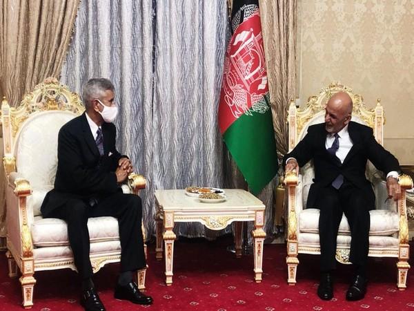 External Affairs Minister S Jaishankar met Afghanistan President Ashraf Ghani