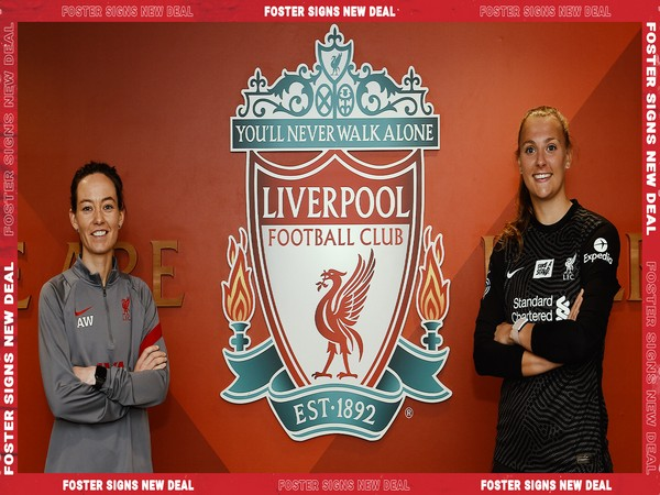 Rylee Foster (right) (Photo/ Liverpool Women Twitter)