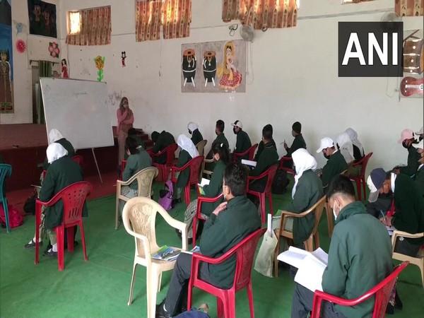 Visual from Islamia Public School in Ladakh.