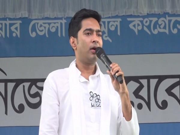 TMC MP Abhishek Banerjee in Alipurduar (Photo/ANI)