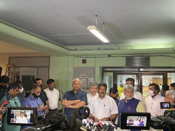 BJP delegation in Kolkata (Photo/ANI)