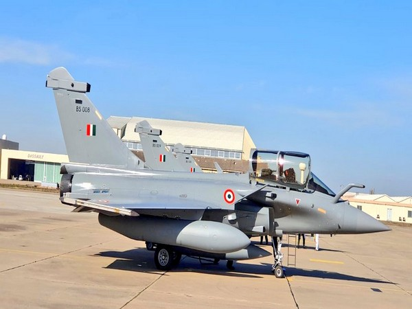 Rafale Jet (Photo credit: Indian Embassy in France on Twitter)