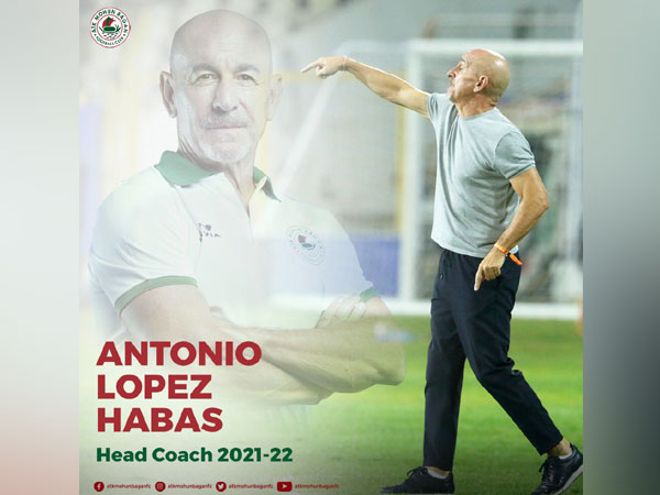 Antonio Lopez Habas (Photo/ ATK Mohun Bagan Twitter)