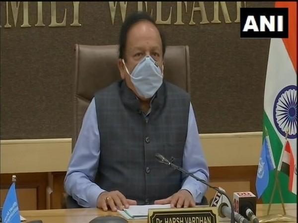 Union Health Minister Dr Harsh Vardhan (Photo/ANI)