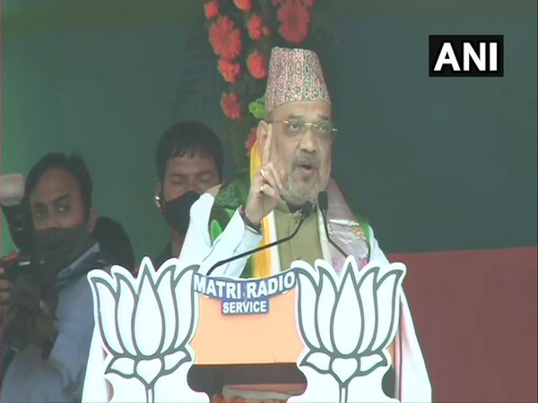 Union Home Minister Amit Shah in Darjeeling (Photo/ANI)