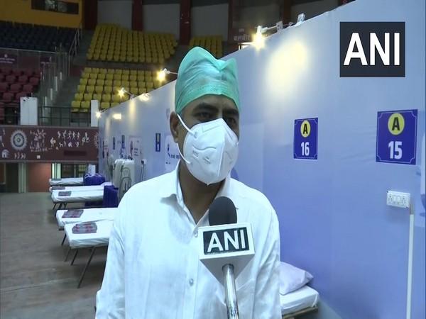 Dr Avinash Chaturvedi, COVID-19 care centre at Raipur indoor stadium, Chhattisgarh