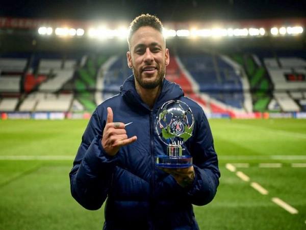 PSG striker Neymar (Photo/ PSG Twitter)