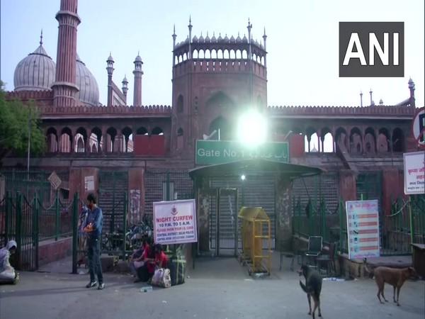 Visual from Delhi's Jama Masjid on Wednesday. (Photo/ANI)