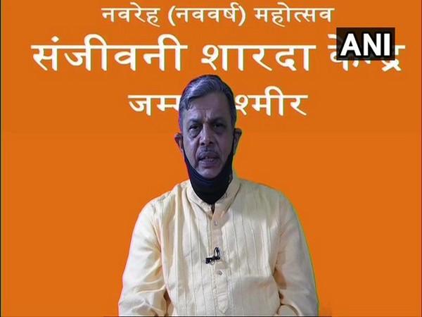 RSS General Secretary Dattatreya Hosabale speaking at the valedictory event of Navreh Mahotsav on Wednesday.