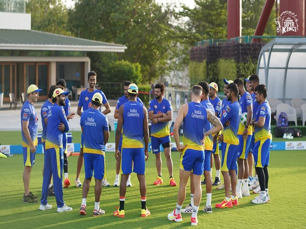 CSK will take on DC at the Wankhede Stadium on April 10 (Photo/ CSK Twitter)