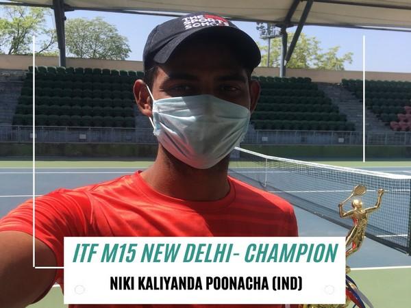 Niki Kaliyanda Poonacha (Photo/ AITA Twitter)