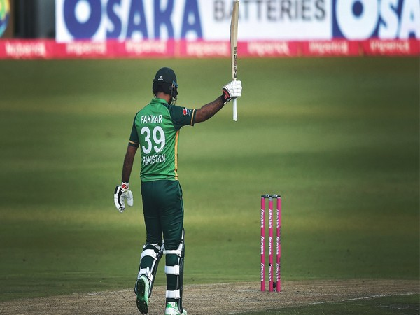 Pakistan opening batsman Fakhar Zaman (Photo/ ICC Twitter)