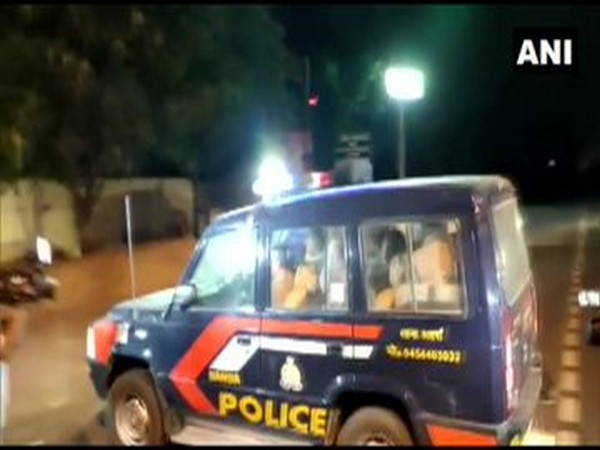 UP Police reached Rupnagar to take custody of Mukhtar Ansari (Photo/ANI)