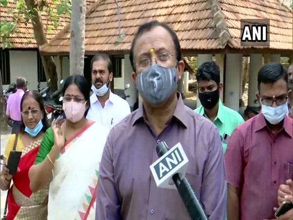 Union Minister V Muraleedharan in conversation with ANI. (Photo/ANI)