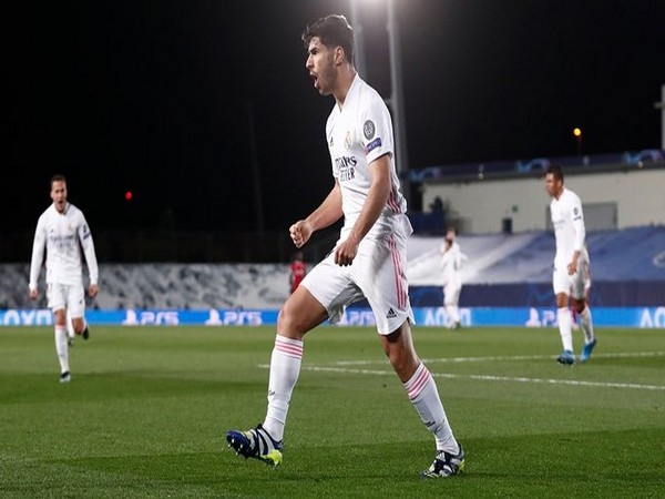 Real Madrid's Marco Asensio in action (Photo/ Real Madrid Twitter)