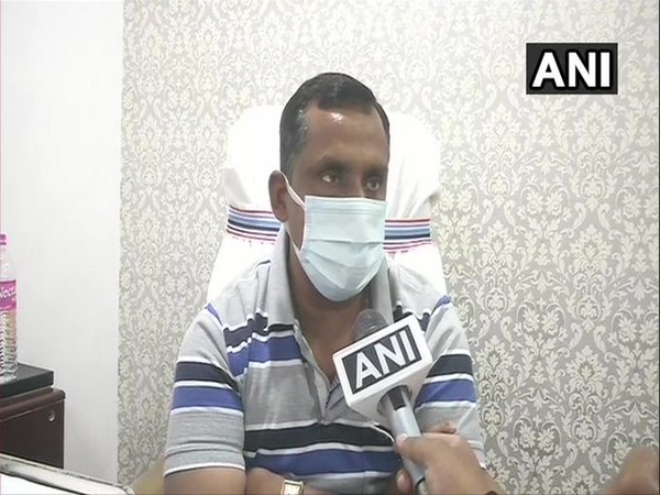 Jharkhand Health Minister Banna Gupta speaking to ANI in Ranchi on Thursday. [Photo/ANI]