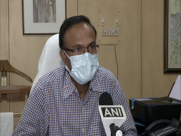 Sudhir Kumar, General Manager, Food Corporation of India (FCI), Delhi Region in converstation with ANI. (Photo/ANI)