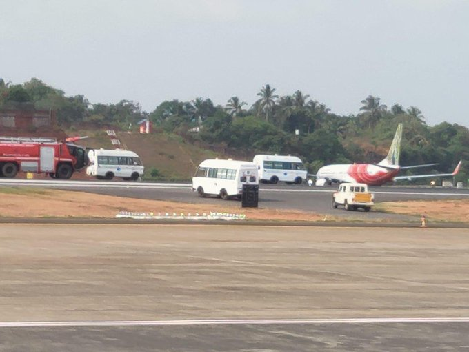 Air India Express flight makes emergency landing in Kozhikode, Kerala (Photo/10cric casino)