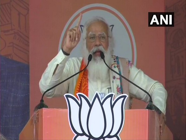 Prime Minister Narendra Modi in Krishnanagar on Saturday.